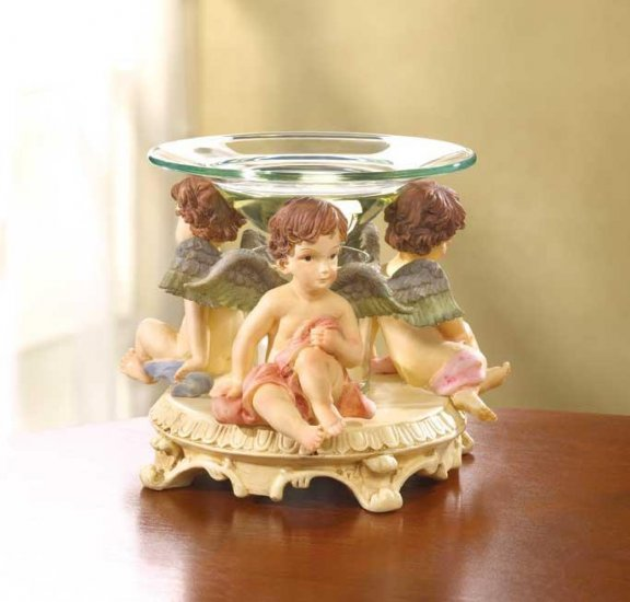 CHERUB OIL WARMER--Item #: 31388