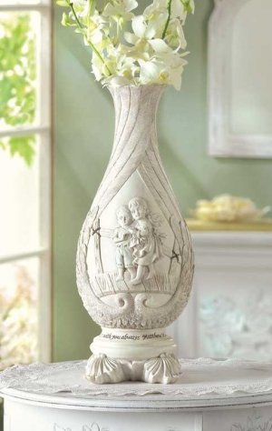ANGELIC WINGS VASE---Item #: 38285