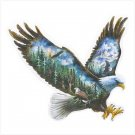 SOARING EAGLE SCENIC PLAQUE---Item #: 38962