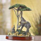 ELEPHANT AND CHILD FIGURINE---Item #: 38351