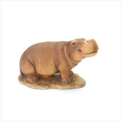4 1/2'H HIPPO FIGURINE---Item #: 37504