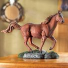 RUNNING HORSE FIGURINE---Item #: 36988