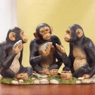 POKER PLAYING CHIMPS---Item #: 35191