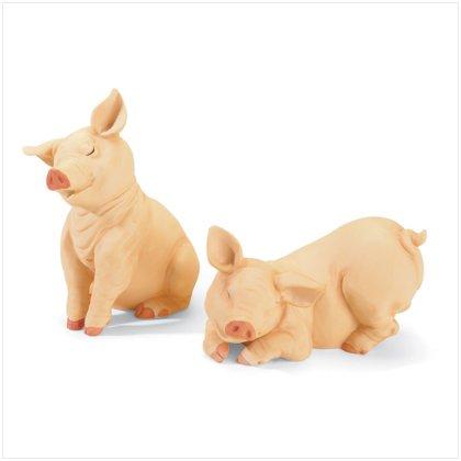 PIG FIGURINE SET---Item #: 37449