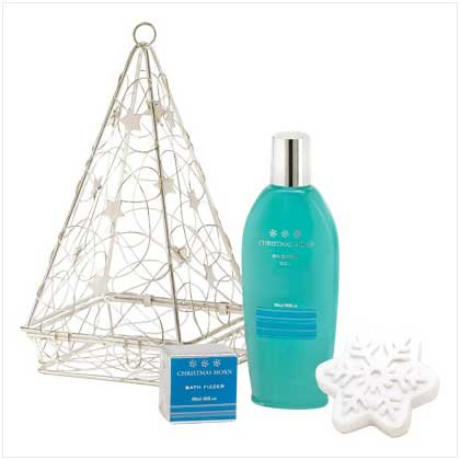 WINTER FROST BATH BATH SET---Item #: 38243
