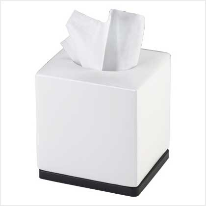 BOUTIQUE TISSUE BOX---Item #: 38731