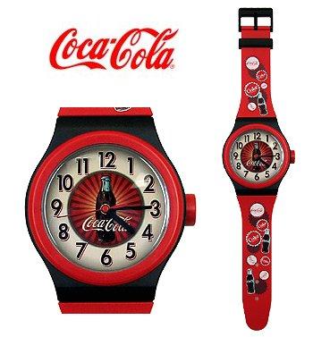 Coca-Cola WATCH WALL CLOCK---Item #: PP1715