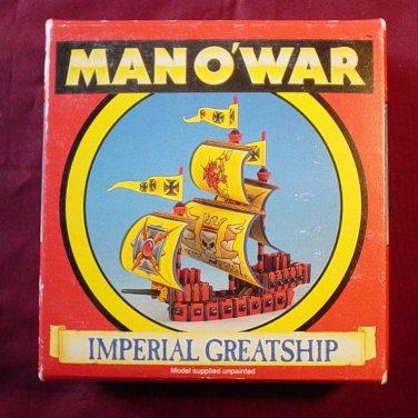 Warhammer Man O' War Imperial Greatship