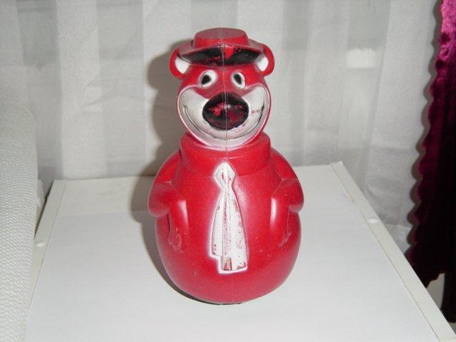 Vintage1960s Collectible Hanna Barbera Yogi Bear Wobbler Toy  #600007
