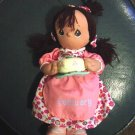 Dark Skinned Precious Moments February Birthday Doll  #600030