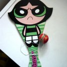 The Powerpuff Girls Bubbles Blossom Buttercup Paddle and Ball Game  #600051
