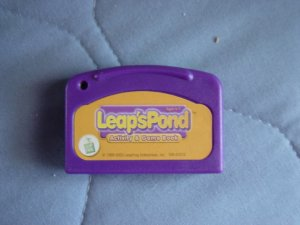 Leap Pad LeapFrog Leap's Pond Cartridge   #600160