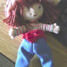 "Small 8 1/4""  Strawberry Shortcake Doll at Little Shoppe of Toys #600164"