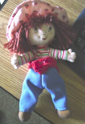 """Small 8 1/4""""  Strawberry Shortcake Doll at Little Shoppe of Toys #600164"""