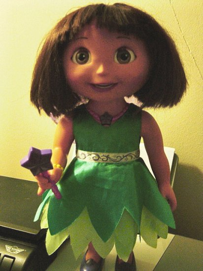 Dora The Explorer Talking Wishing Fairy Doll 600171