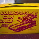 Tara Toy Corp. Collectors Car Case for Hot Wheels, Matchbox Other Miniature Die Cast Cars #600198