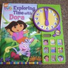 2004 Viacom International Exploring Time With Dora the Explorer Interactive Book #600259