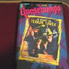 R.L. Stine Goosebumps VHS Video A Night In Terror Tower  #600269