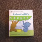 My First Golden Board Books Animal ABC's A Golden Book Hard Cover #600271