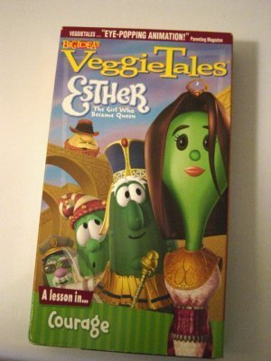 Big Idea's VHS Video VeggieTales Esther The Girl Who Became Queen #600284