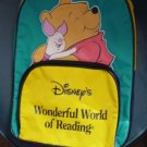 Disney's Wonderful World of Reading Winnie the Pooh and Piglet Backpack #600297