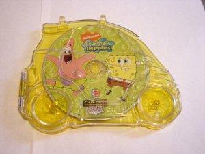 Mattel CarGo DVD Travel Game Spongebob Squarepants #600311