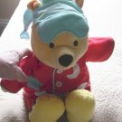 2002 Fisher Price Talk Sing 'n Snore Winnie The Pooh Plush Doll #600370