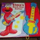 Elmo's Rock Star Guitar Interactive Music Book #600405