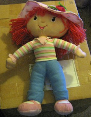 "Large 15""  Kelly Toys Strawberry Shortcake Doll at Little Shoppe of Toys #600444"