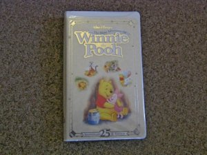 Disney The Many Adventures of Winnie The Pooh VHS Tape 25th Edition #600451