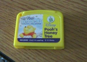Leap Pad LeapFrog Pooh's Honey Tree My 1st LeapPad Cartridge  #600460