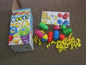 1999 Milton Bradley Cootie Game #300462