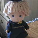 Precious Moments Graduation Boy Hi Babies Doll 1991 NWT #600463