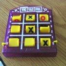 JA-RU Clear Plastic Travel Size Tic Tac Toe Game Player #600507