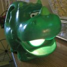 Little Tikes Green Roaring Triceritops Dinosaur Flashlight #600511