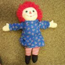 "15"" Raggedy Ann Doll by Hasbro 2002 #600512"