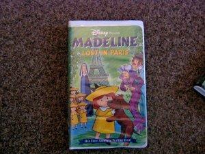 Disney 1999 Madeline Lost in Paris VHS Video #600411