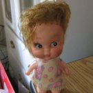 "1950s–1960s Old Vintage Celluloid 5"" Red Hair Doll Original Clothes #600527"