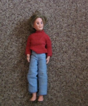 1973 Mattel Mod Hair Steve Doll Sweater and Bib Overalls #600531