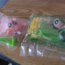 Set of Two Subway Powerpuff Girls Kids' Pak Toy Blossom and Buttercup Mint #600551
