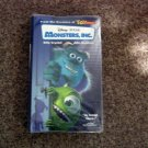 Disney Pixar Monsters Inc. Video VHS Sulley Mike Billy Crystal John Goodman #600572