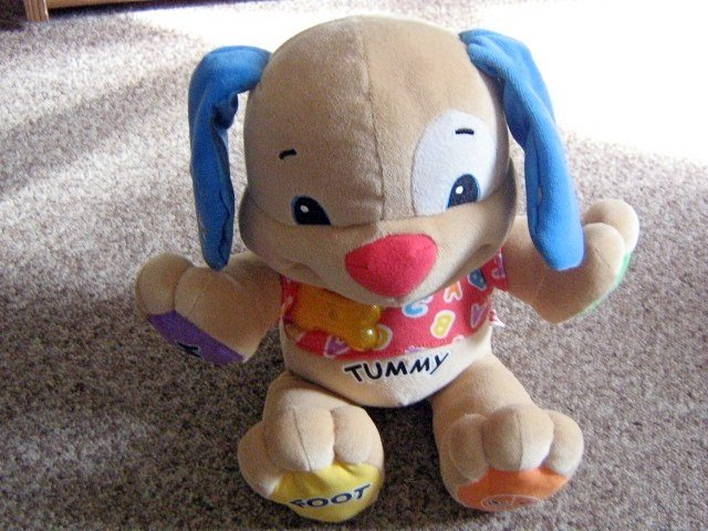 Plush Fisher-Price Laugh & Learn Learning Puppy Dog #600522