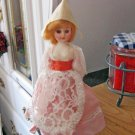 "Old Vintage Celluloid 7 1/2"" Dutch Doll Original Clothes #600583"