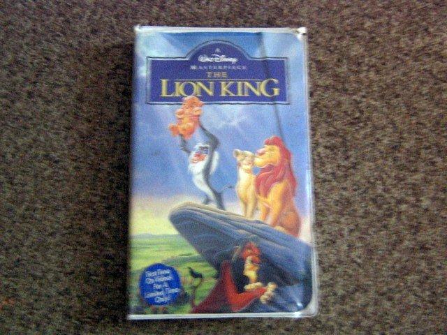 the lion king  vhs  1995  walt disney clamshell video