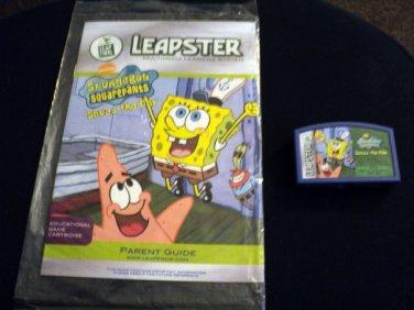 LeapFrog Leapster L-Max SpongBob SquarePants: Saves the Day Game Cartridge  #600651