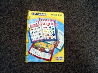 ActivePAD Treasury of Learning Fun Book and Cartridge #600655