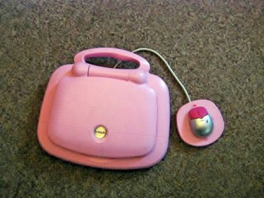 Kids Light Pink Vtech Tote & Go Laptop Computer #600584