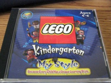 LEGO My Style Kindergarten CD Sound Reading Counting Music Games #600575
