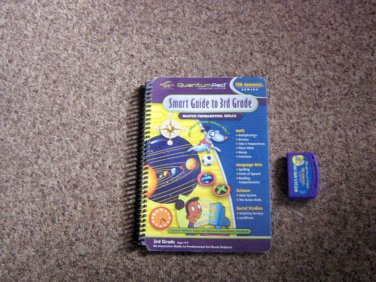 Quantum Pad Library: Smart Guide To Third Grade LeapPad Book & Cartridge #600557