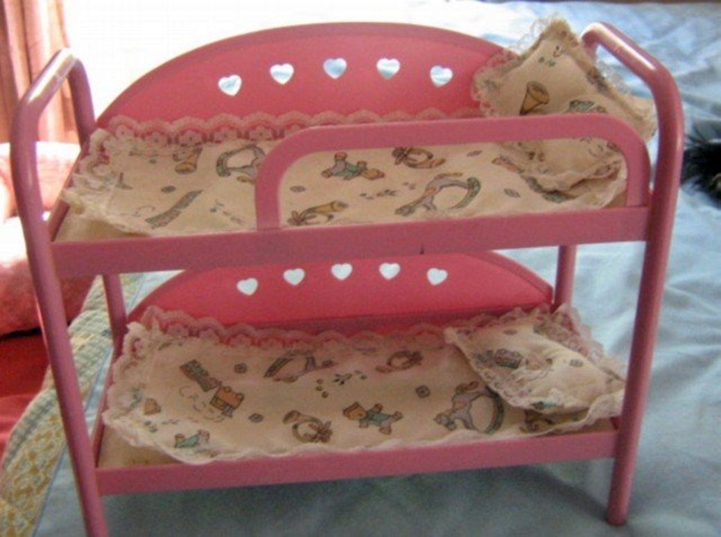 Lovee Doll Amp Toy Co : Pink lovee doll toy co bunk beds